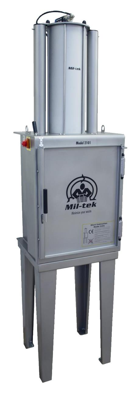 Mil-tek 2101S Stainless Steel Can Crusher