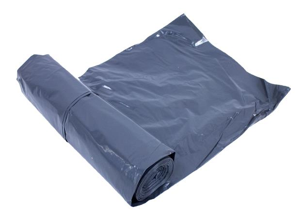 XP100/300 Compactor Black Plastic Bags (80 microns - 100 bags)